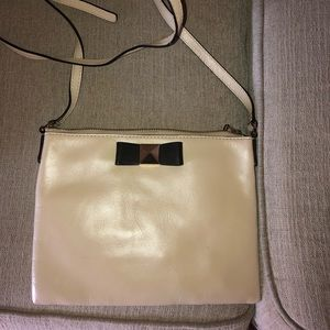 Kate Spade small clutch purse with long strap!